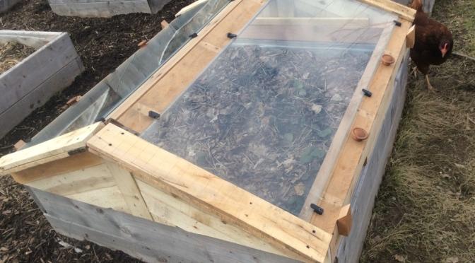 Pallet cold frames