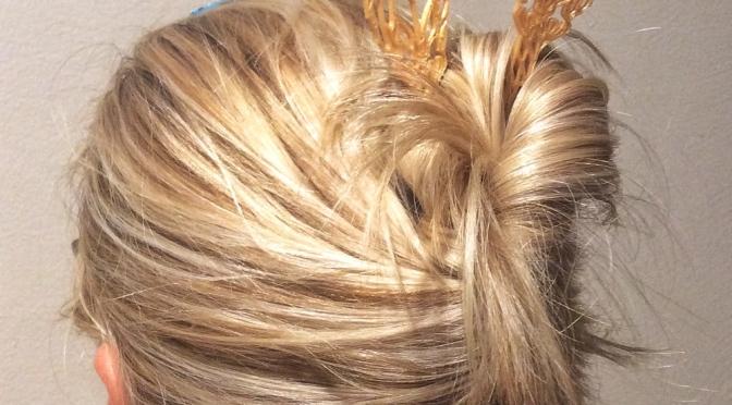 Owl hair Pin
